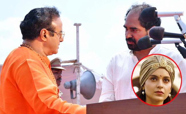 Kangana Ranaut Attacks Krish Over NTR Biopics Failure - Sakshi