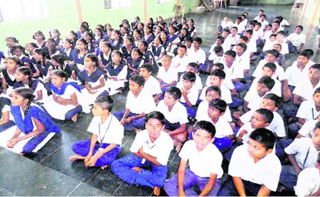 Slas Exams For Tenth Class Students YSR Kadapa - Sakshi