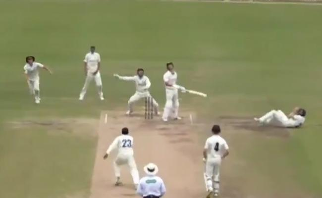 Australian Cricketer Involved In One Of The Most Bizarre Dismissals Ever Seen - Sakshi