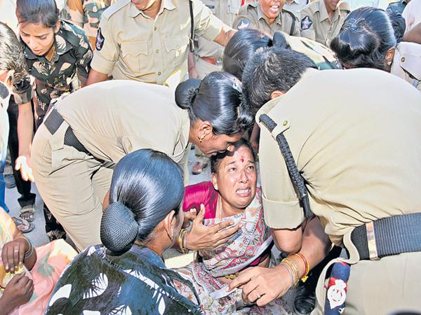 Police Over Action In Chittoor - Sakshi