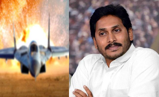 YS Jagan Congratulates Indian Air Force Over Surgical strike 2 - Sakshi