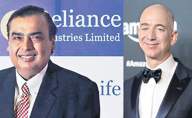 Mukesh Ambani reached top 10 in terms of wealth - Sakshi