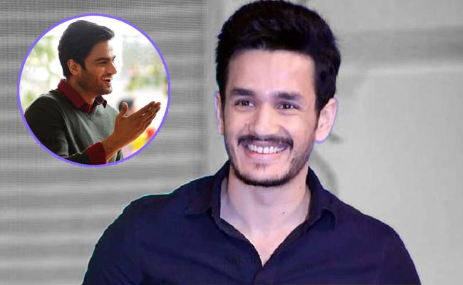 Sudheer Babu Intresting Comment on Akhil Akkineni - Sakshi