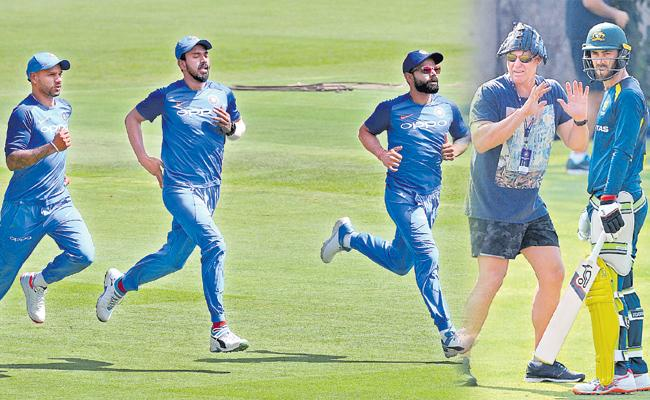 India - ausis:Today is the second T20 in Bangalore - Sakshi
