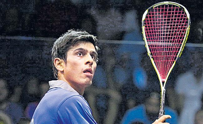 Saurav Ghosal enters quarters of World squash championship - Sakshi