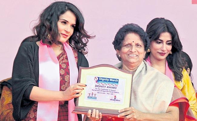 Do not worry about women who are raped in society - Sakshi