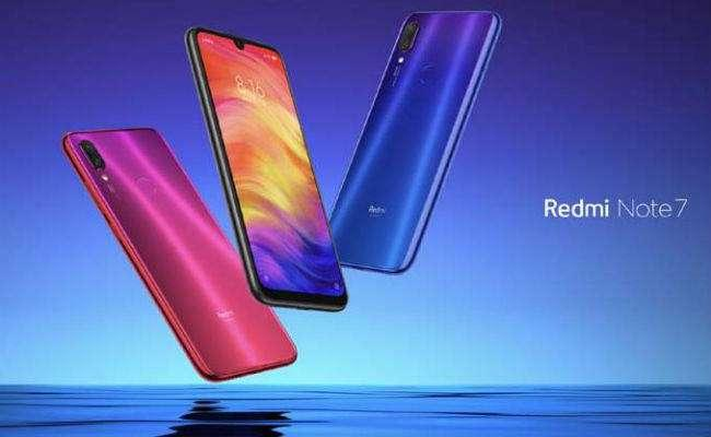 Redmi Note 7  Launched in India - Sakshi