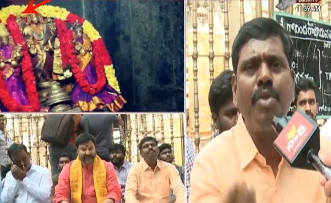 TTD Govindaraja Swamy Ornaments Stolen.. Key Evidence in CCTV cameras - Sakshi