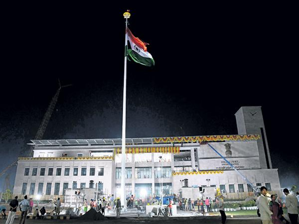 Today is the beginning of the High Court temporary building - Sakshi