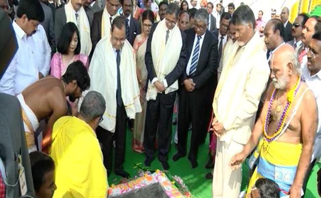 AP High Court Temporary Building Inaugurated in Amaravathi - Sakshi