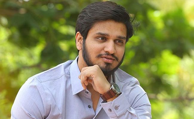 Nikhil Movie Title May Changing - Sakshi