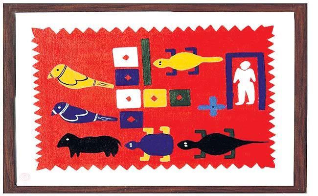 Tribales Paintings Sales Through Online - Sakshi