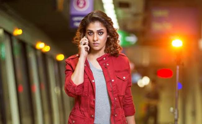 Nayanthara Blockbuster Imaikkaa Nodigal in Telugu as Anjali CBI - Sakshi