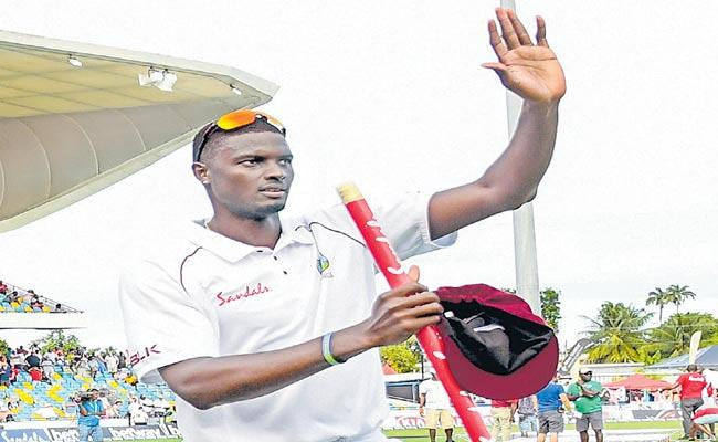Jason Holder became the leader of international cricket - Sakshi