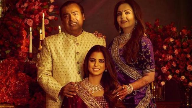 Isha Ambani Reveals She Cried During Her Bidaai - Sakshi