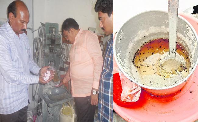 Food Safety And Vigilance Attack on Fast Food Centres - Sakshi