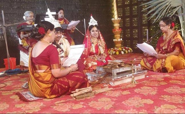 The Bride  Dad Refused To Do Kanyadaan - Sakshi
