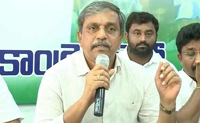 Sajjala Ramakrishna Reddy Criticize CM Chandrababu Naidu - Sakshi