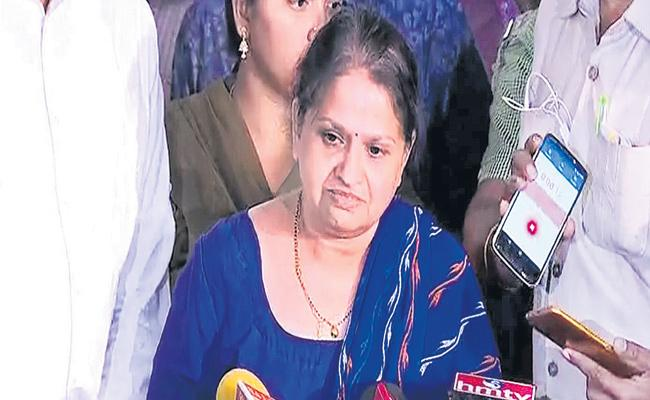 There is no belief in Andhra Police - Chigurupati Jayaram wife - Sakshi