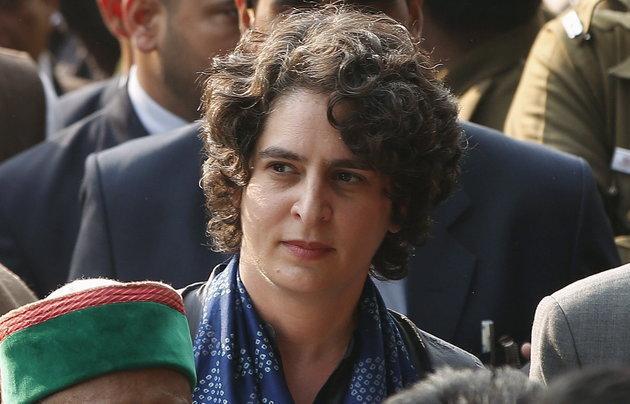 Priyanka Gandhi Takes Charge As Congress General Secretary - Sakshi