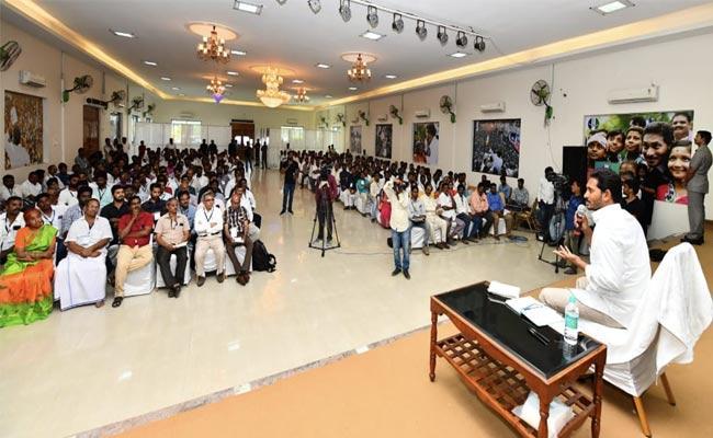 YS Jagan Comments In Anna Pilupu Program In Tirupati - Sakshi