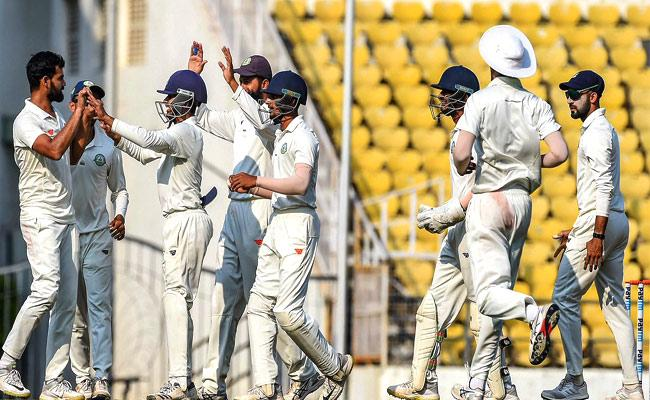 Vidarbha wins Ranji Title Again - Sakshi