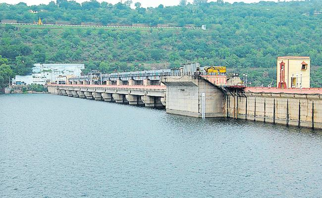 Water use from below the minimum stages in Srisailam - Sakshi