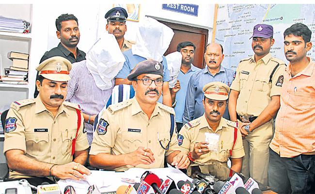 Drugs Smugglers Arrest in Hyderabad - Sakshi