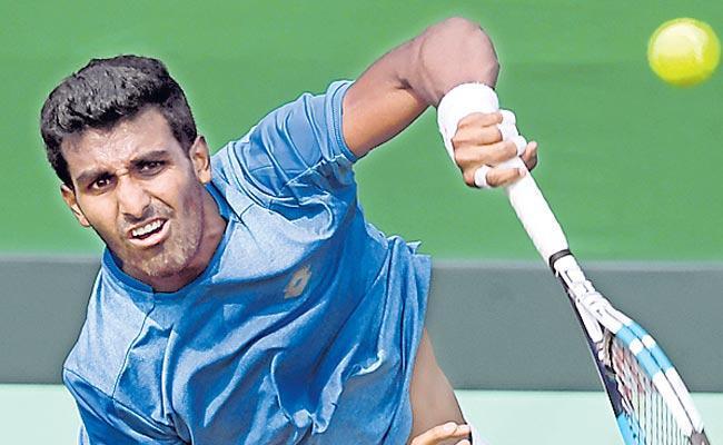 Prajnesh and  Sasi Kumar enter in semi Final - Sakshi
