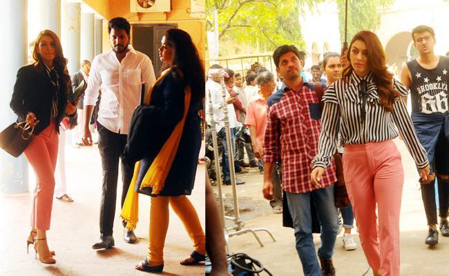 Hansika And Sandeep Kishan Movie Shooting in Kurnool - Sakshi