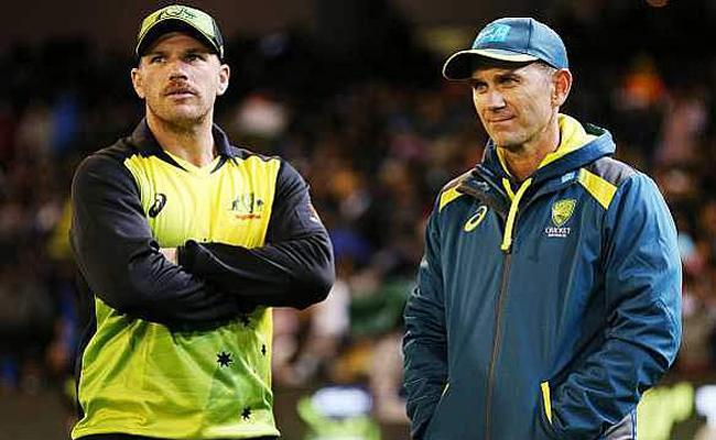 Finch will come good soon, Australia Coach Langer - Sakshi