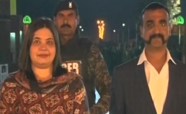 Two Pakistan Jawans Saved Me Said By Captured Indian Wing Commander Abhinandhan Vardhaman - Sakshi
