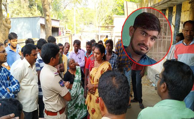 Youth Committed Suicide For Allegations In Suicide Case In Mancherial - Sakshi