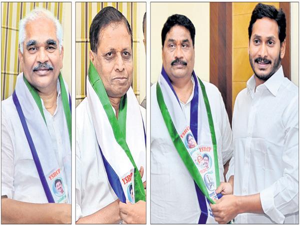 Huge Joinings in YSR Congress Party - Sakshi