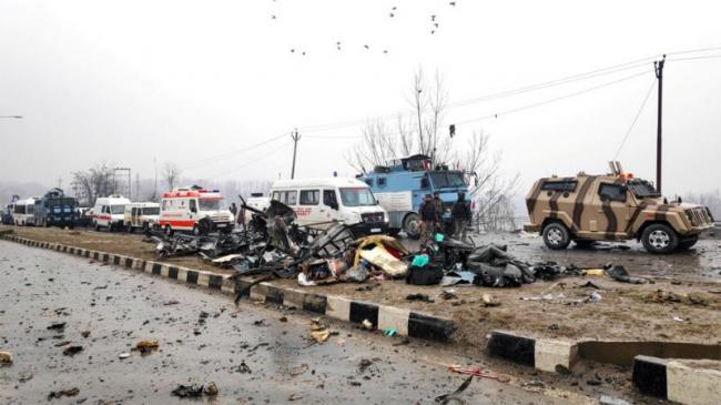 Officials Reveals Electrician Identified As Brain Behind Pulwama Attack - Sakshi