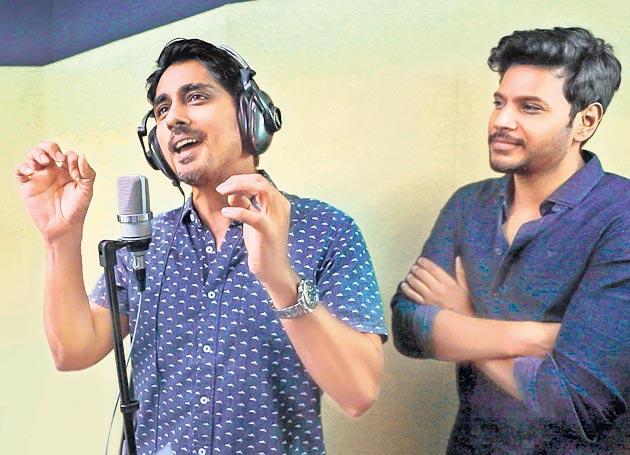 Siddharth lends his voice for Sundeep Kishan's next - Sakshi