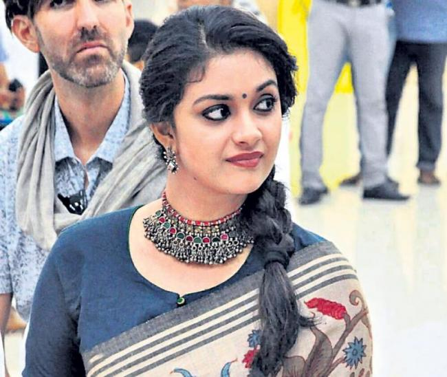Keerthy Suresh to foray into Bollywood with Ajay Devgn's sports biopic - Sakshi