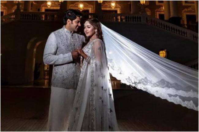 Arya and Sayyeshaa wedding - Sakshi