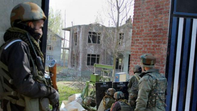 Pulwama Terror Attack Mastermind Believed To Be Killed In Encounter - Sakshi