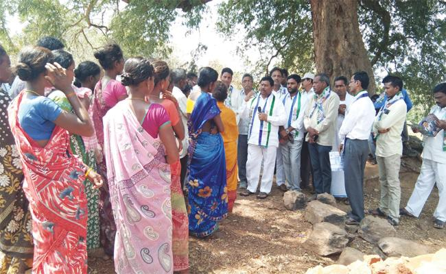 Rajanna Dora Campaign on Navaratnalu in Vizianagaram - Sakshi