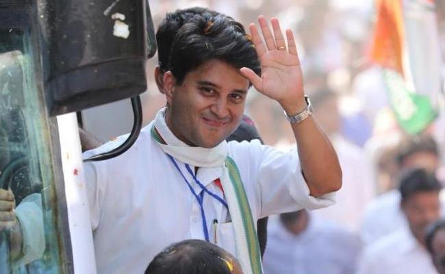 Jyotiraditya Scindia Profile of A Young Politician - Sakshi