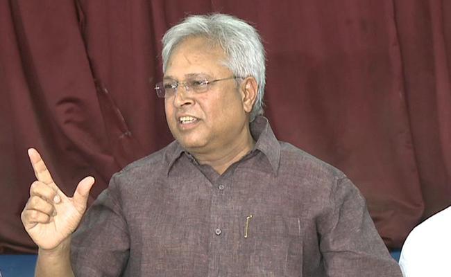 Undavalli Arun Kumar Press Meet On Data Breach Case - Sakshi
