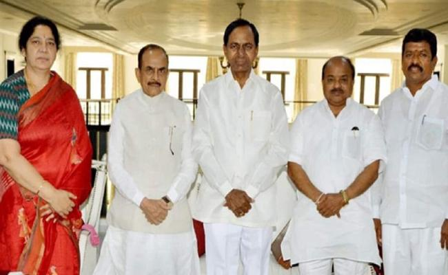 TRS And Their Ally MIM Won ALL Five Seats In MLC Elections - Sakshi