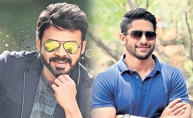 Venkatesh and naga chaitanya venky mama movie updates - Sakshi