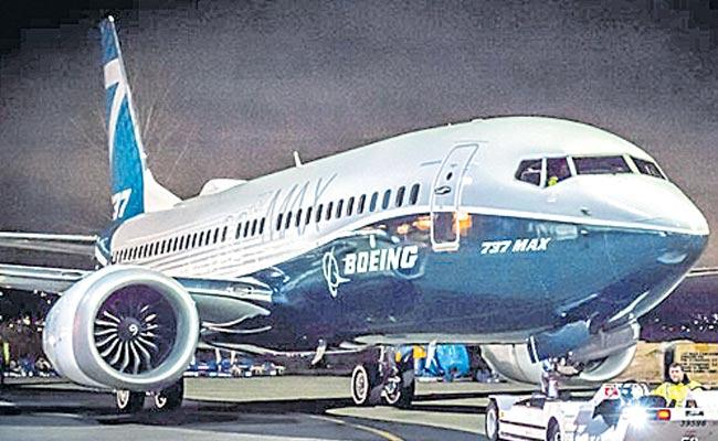 The Indian government has banned the Boeing 737 Max 8 aircraft - Sakshi