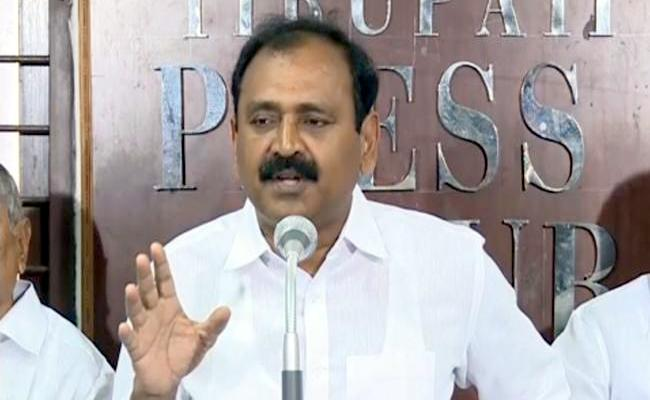 If Enemy Asks For Help I Will Do Said By YSRCP Leader Bhoomana Karunakar Reddy - Sakshi