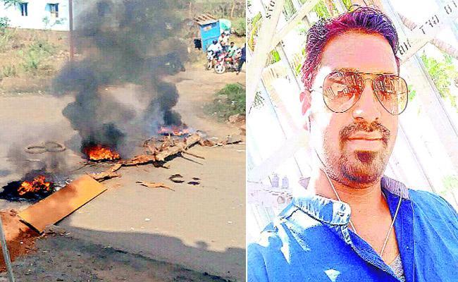 Jio Mobile Supervisor Shot Dead By Dashing Culvert Near Vizianagaram - Sakshi