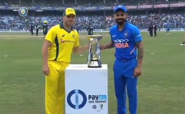 Australia Won The Toss and Choose to Bat First - Sakshi