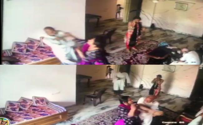 Daughter in law Attack on Uncle And Husband in Karnataka - Sakshi
