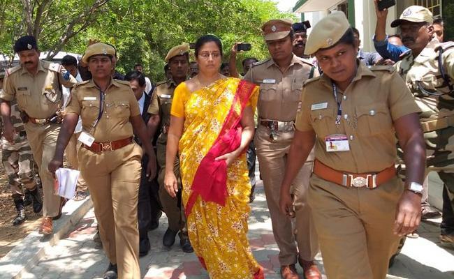 Bail to Nirmala Devi In Sex Scandal Case Tamil Nadu - Sakshi